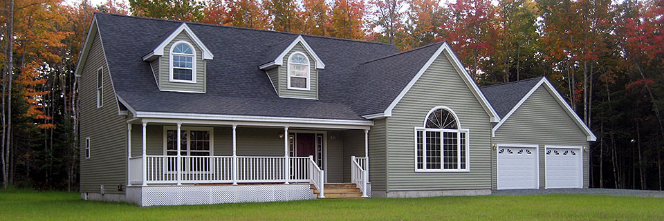 Maine modular homes modular and manufactured homes in maine for Maine home building packages